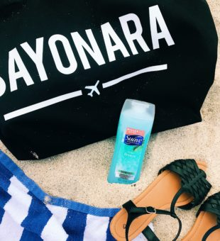 My Travel Essentials + Suave Body Wash