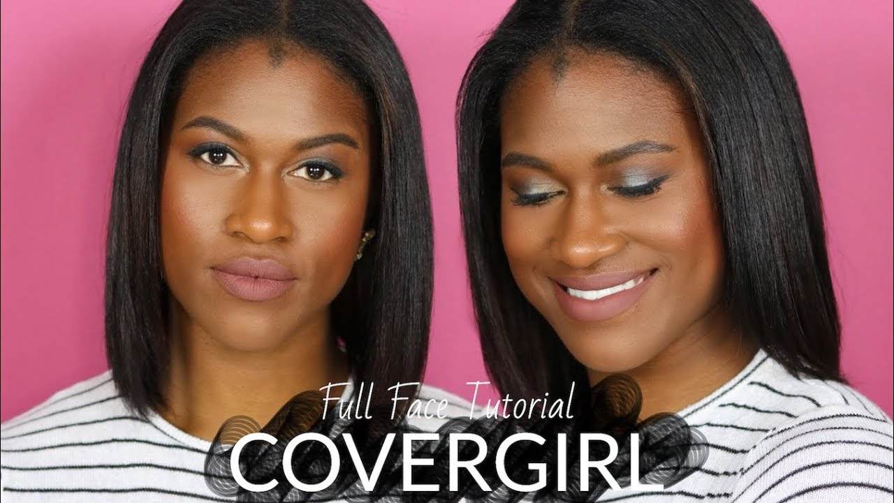 GRWM // Full Face COVERGIRL Shimmering Eye Look