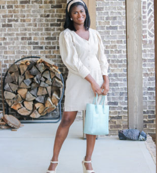 Spring Neutrals with a Hint of  Mint + Let's Catch Up!