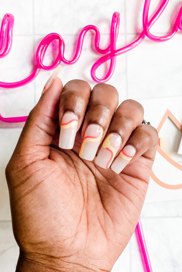 How to Apply ManiMe Custom Gels to Your Kiara Sky Gelly Tip Nails!